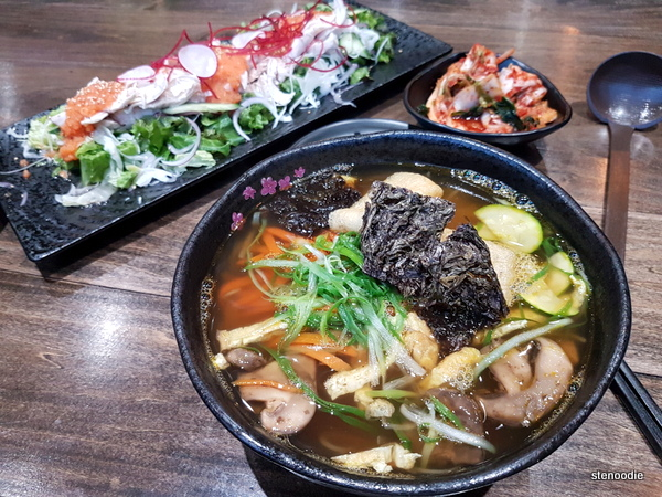 Guksu and Noodle food