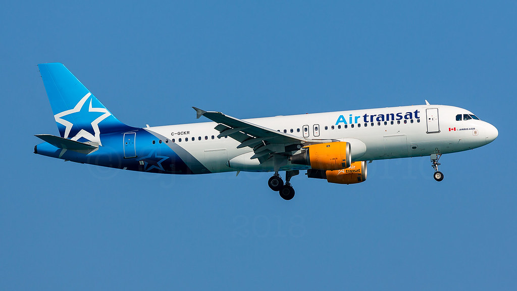 Air Transat Airbus A320-2 C-GCKR