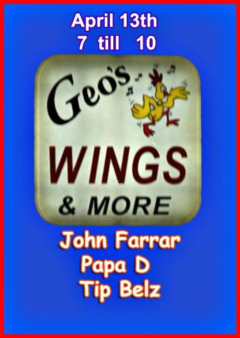 Farrar, Papa D, Tip Belz, 4-13-18