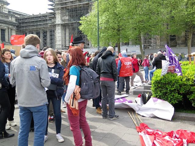 1 mei in Brussel // Mario
