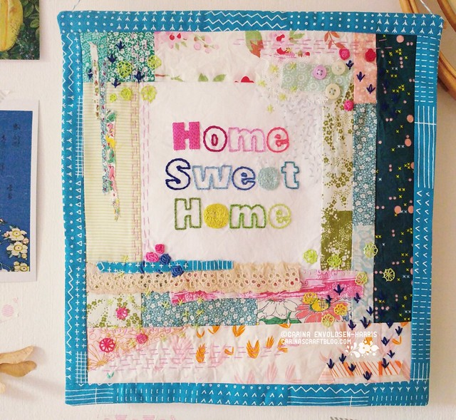 Home Sweet Home Stitch Improv