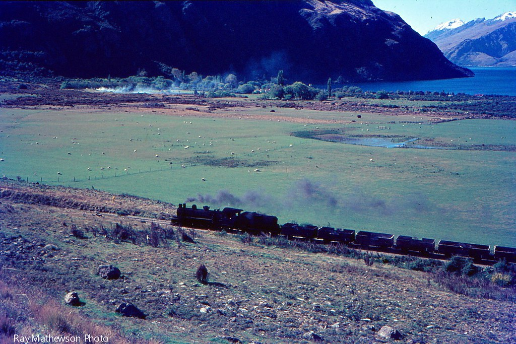 A freight climbing out of Kingston before the Kingston Flyer era.