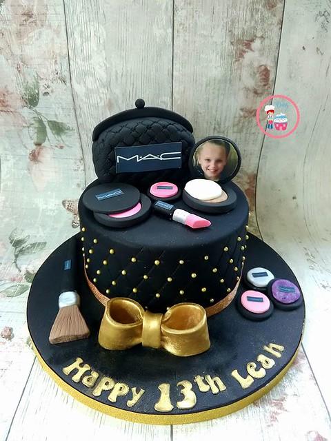 MAC Makeup Cake by Debs Cake House