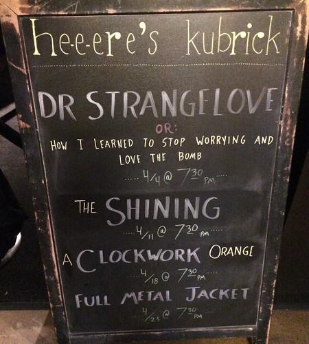 Heeere's Kubrick
