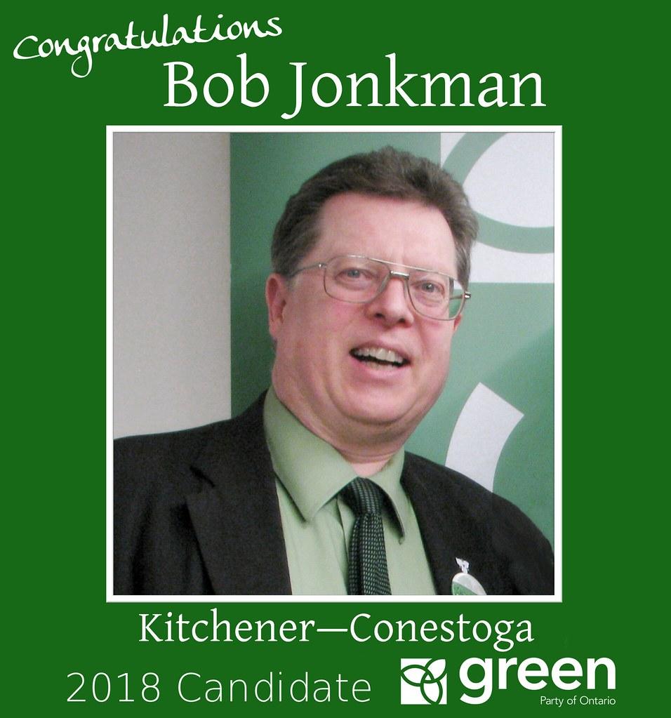 Congrats Bob Jonkman