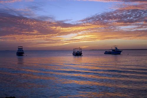 sunset caribbean caribbeansea marine tropical earthnaturelife wondersofnature