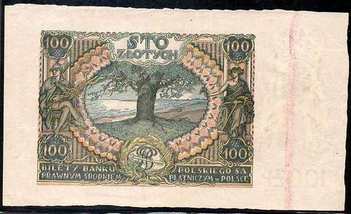 1932 Poland 100 Zlotych Proof