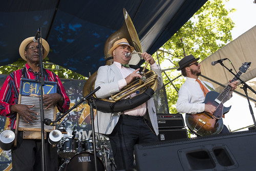 Tin Men perform during French Quarter Fest 2018 on April 15, 2017. Photo by Ryan Hodgson-Rigsbee RHRphoto.com