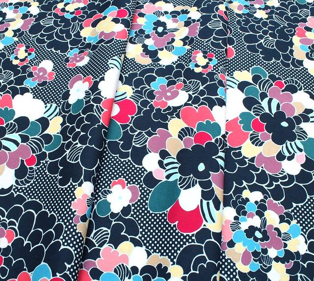 Art Gallery Fabrics Dare Pop Art Winterflower