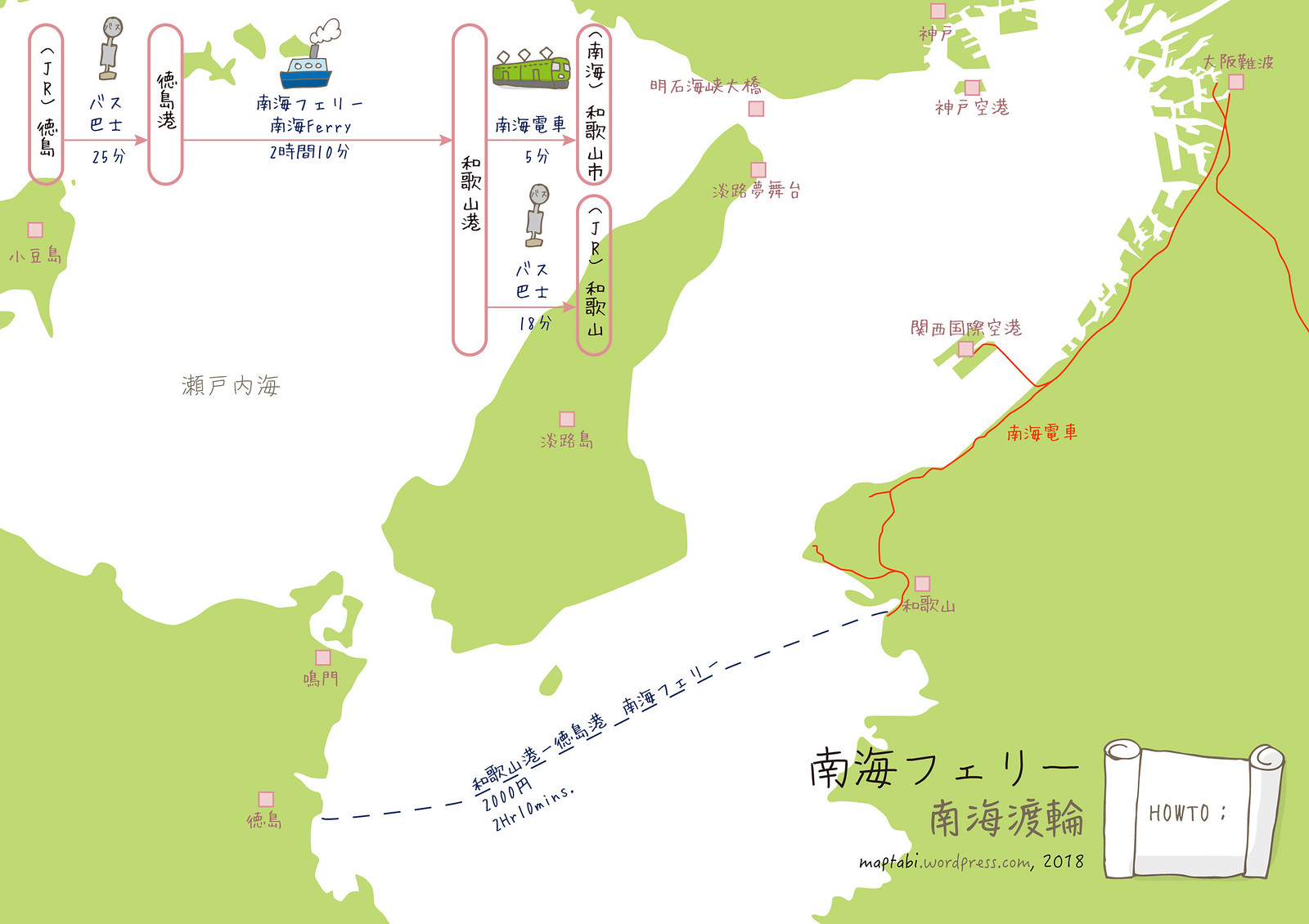 nankai_ferry_map