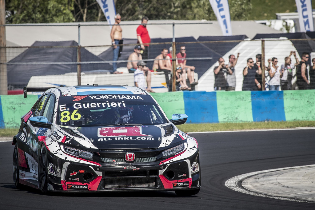 86 GUERRIERI Esteban (ARG), ALL-INKL.COM Munnich Motorsport, Honda Civic TCR, action during the 2018 FIA WTCR World Touring Car cup, Race of Hungary at hungaroring, Budapest from april 27 to 29 - Photo Gregory Lenormand / DPPI