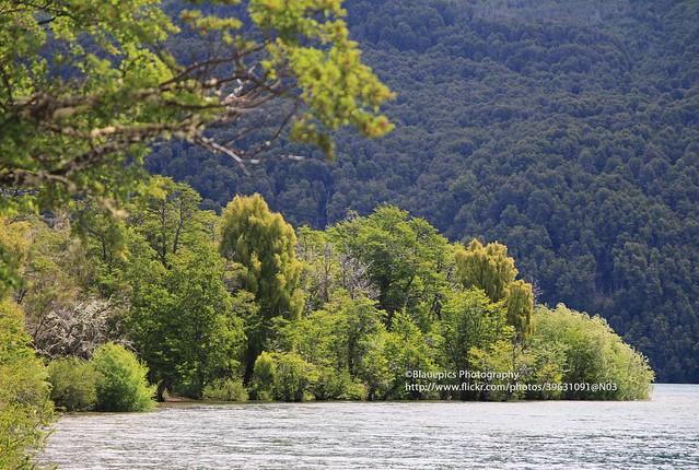 PN Los Alerces, Lago Rivadavia