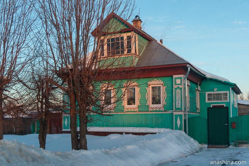 Жилой дом с нарядными наличниками, Солигалич