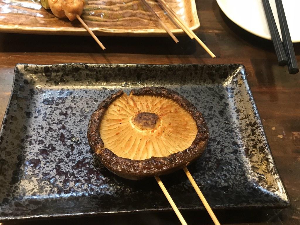 大ぶりの椎茸