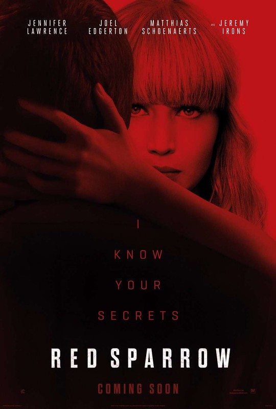 Red Sparrow - Poster 2