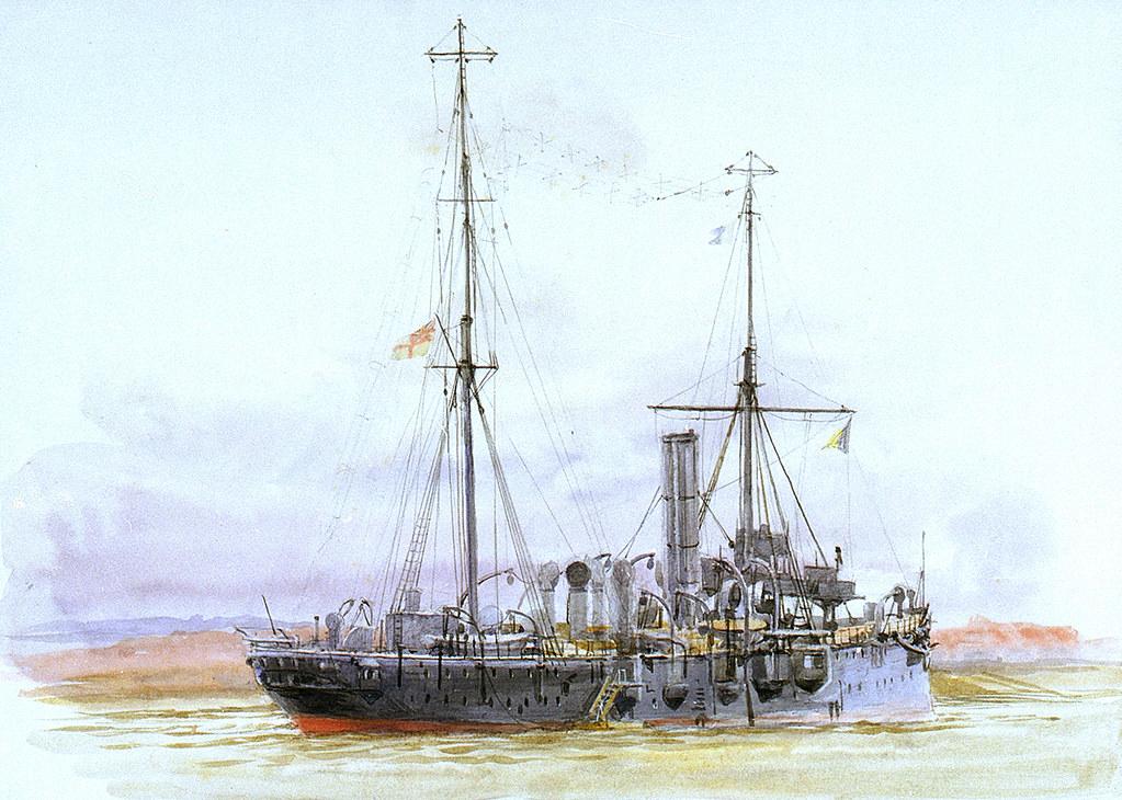 """HMS """"Thames"""", Submarine Depot Ship"""