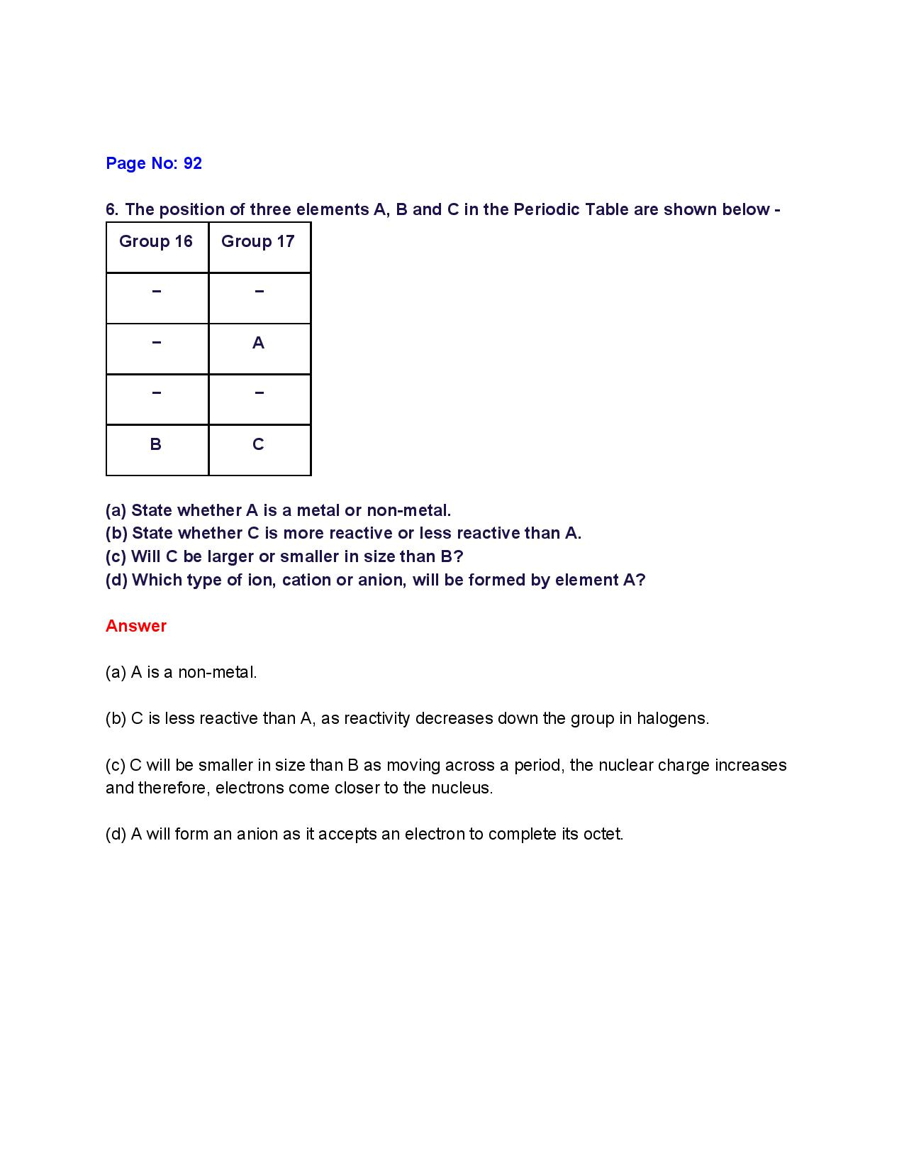 NCERT Solutions for Class 10th_ Ch 5 Periodic Classification of Elements Science-page-007