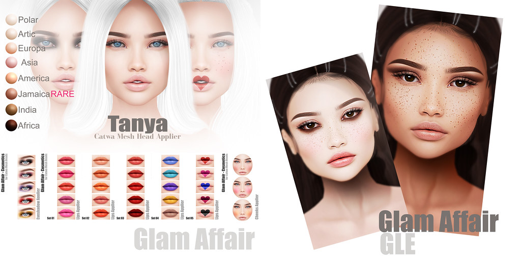 Glam Affair – Tanya for GachaLand