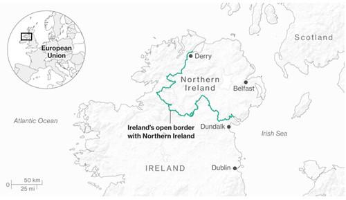 Cartina-Irlanda