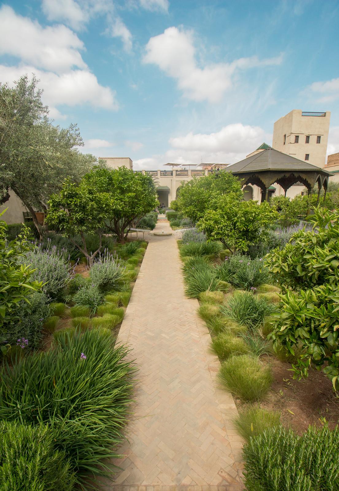 Le Jardin Secret, Marrakech