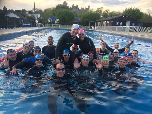 Lido Wetsuit Swim 1st May