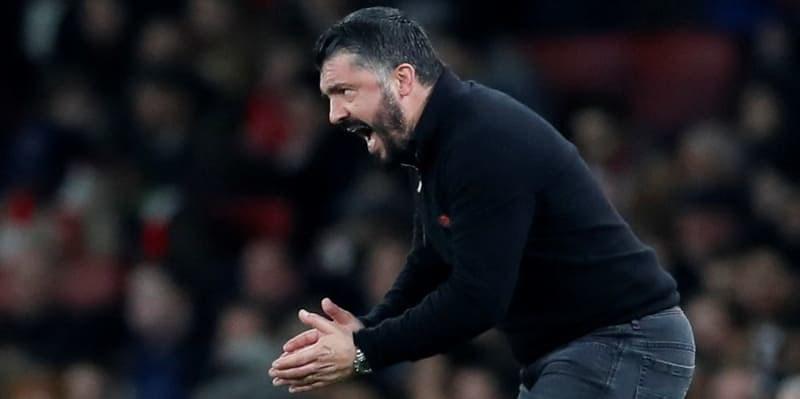 Gattuso Emosi Melihat Penampilan Milan Saat Dikalahkan Juventus 1-3