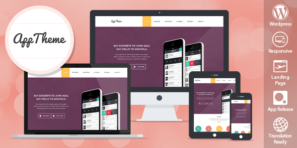 AppTheme v1.1.6 - Apss WordPress Theme for Products and Apps