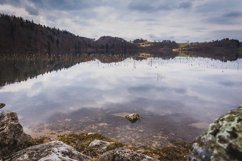 Lac de Narlay - Jura - Avril 2018