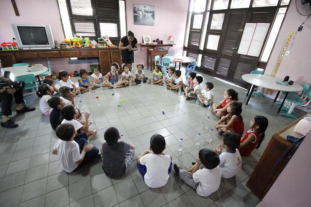 06.05.2018 Evento - Educadores da Escola Municipal Hermann Gmeiner vão à Itália para expor trabalho da unidade Entrada