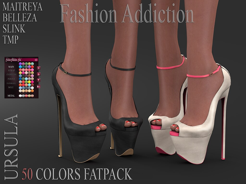 URSULA SHOES @ .Suicide DollZ.