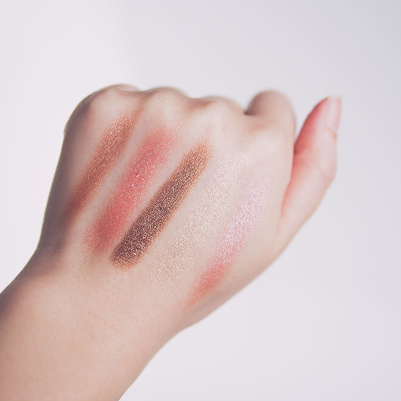 PIXI Cafe Con Dulce Palette Swatch