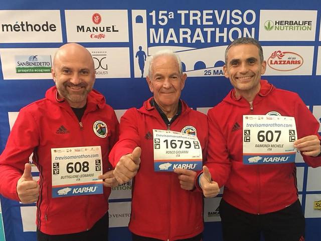 gioia running e la maratona di treviso