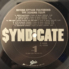 DIVINE STYLER:WORD POWER(LABEL SIDE-A)