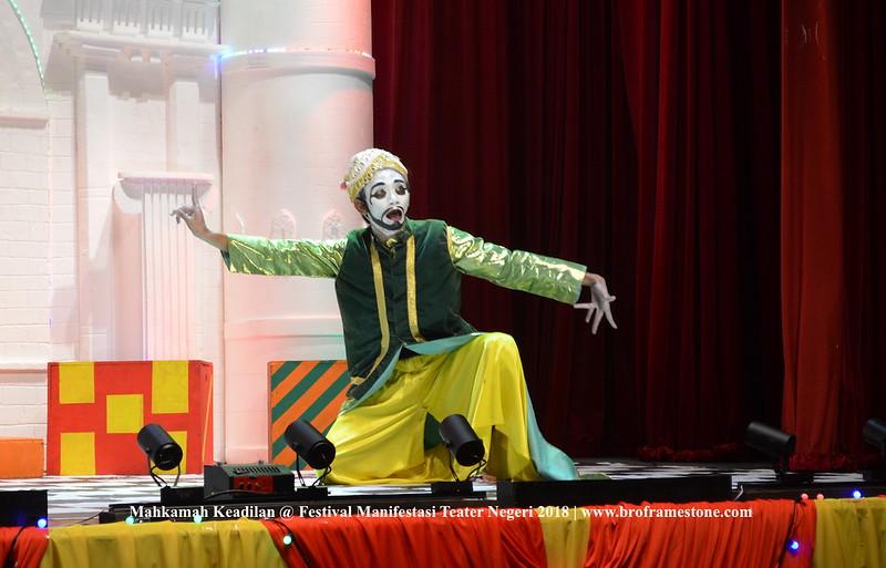 Mahkamah Keadilan Festival Manifestasi Teater Negeri 2018