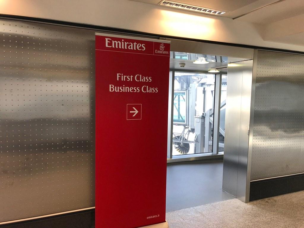 Emirates Lounge Milan MXP 52