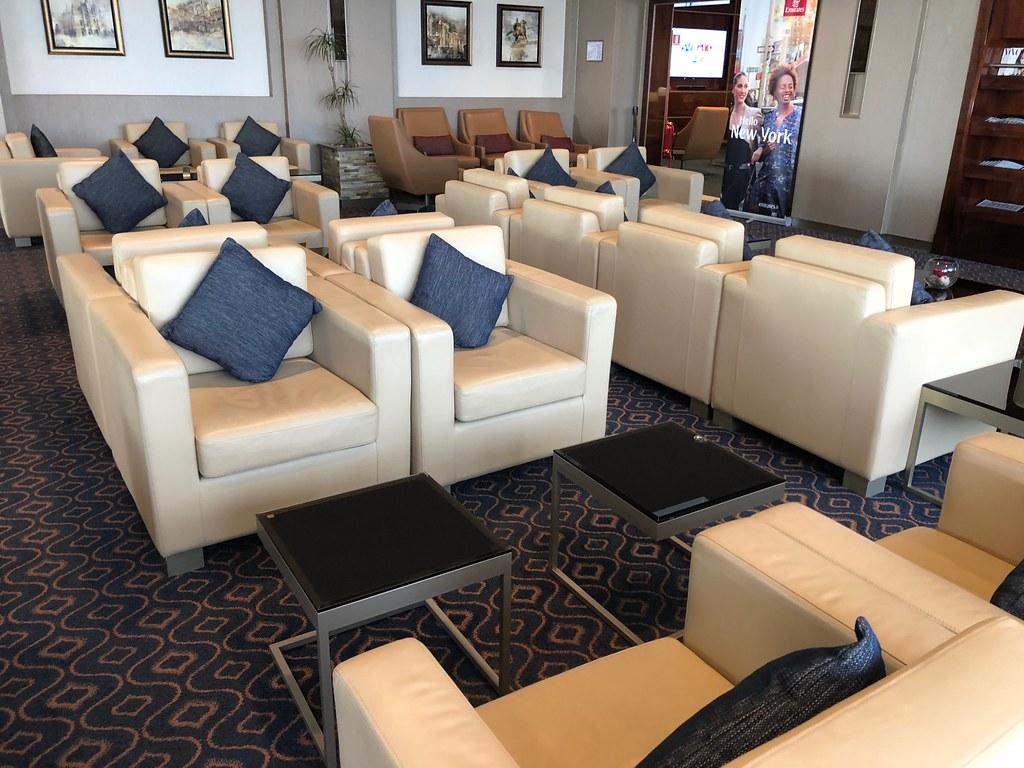 Emirates Lounge Milan MXP 36