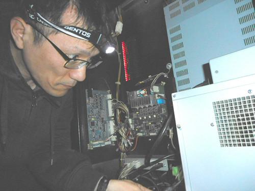 湾岸ミッドナイト5DX+録画台を配線する