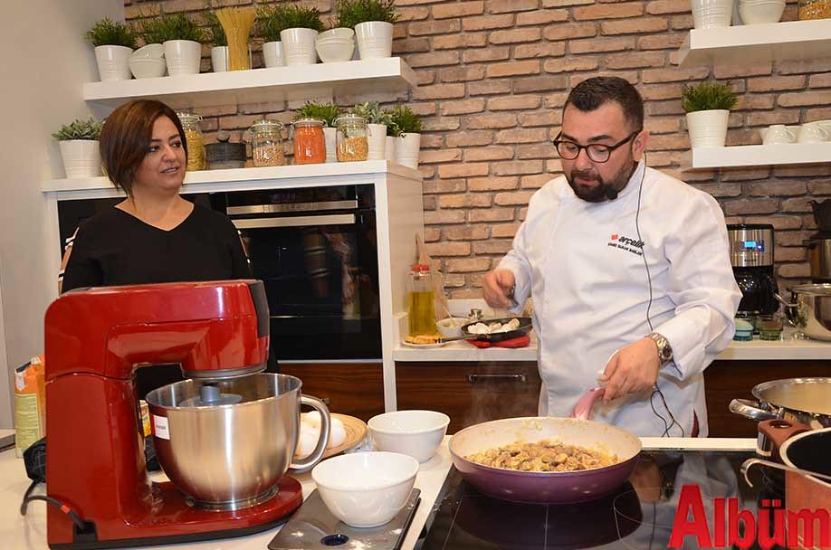Nilüfer Sadullahoğlu, Gastronomi Uzmanı Şef Çağrı Burak Sağlam-2