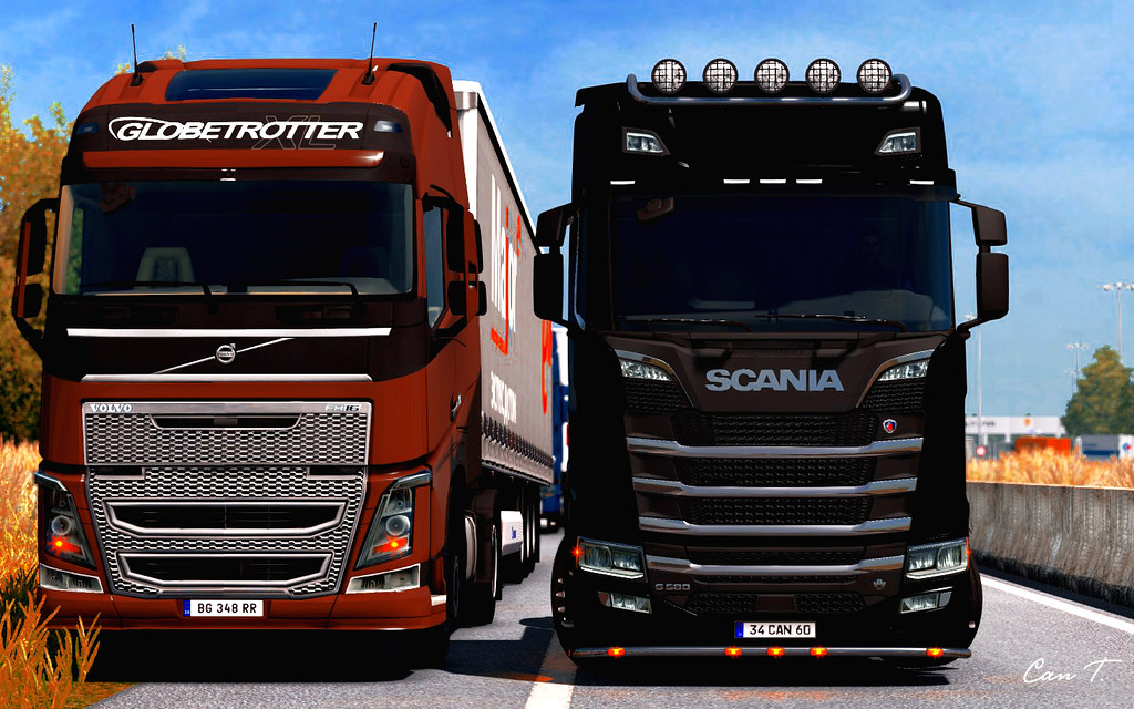 SCANIA and VOLVO