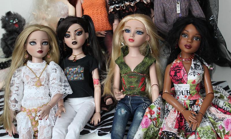 Emily, Minka, Amber & Shae