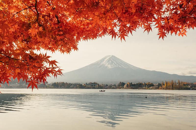 逆富士|富士山