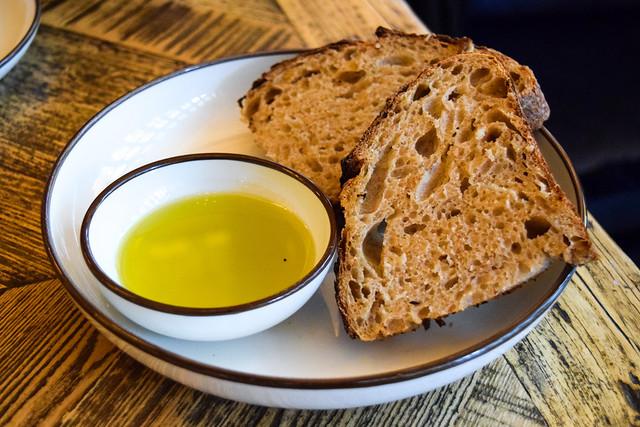 Bread and Oil at Hovarda, Soho  #greek #turkish #london #soho #bread #oliveoil