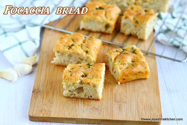 Focaccia-bread recipe