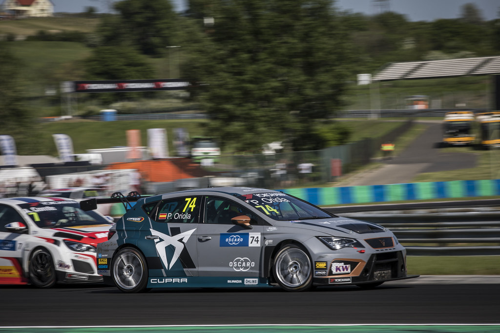 74 ORIOLA Pepe (ESP), Team Oscaro by Campos Racing, Cupra TCR, action during the 2018 FIA WTCR World Touring Car cup, Race of Hungary at hungaroring, Budapest from april 27 to 29 - Photo Gregory Lenormand / DPPI