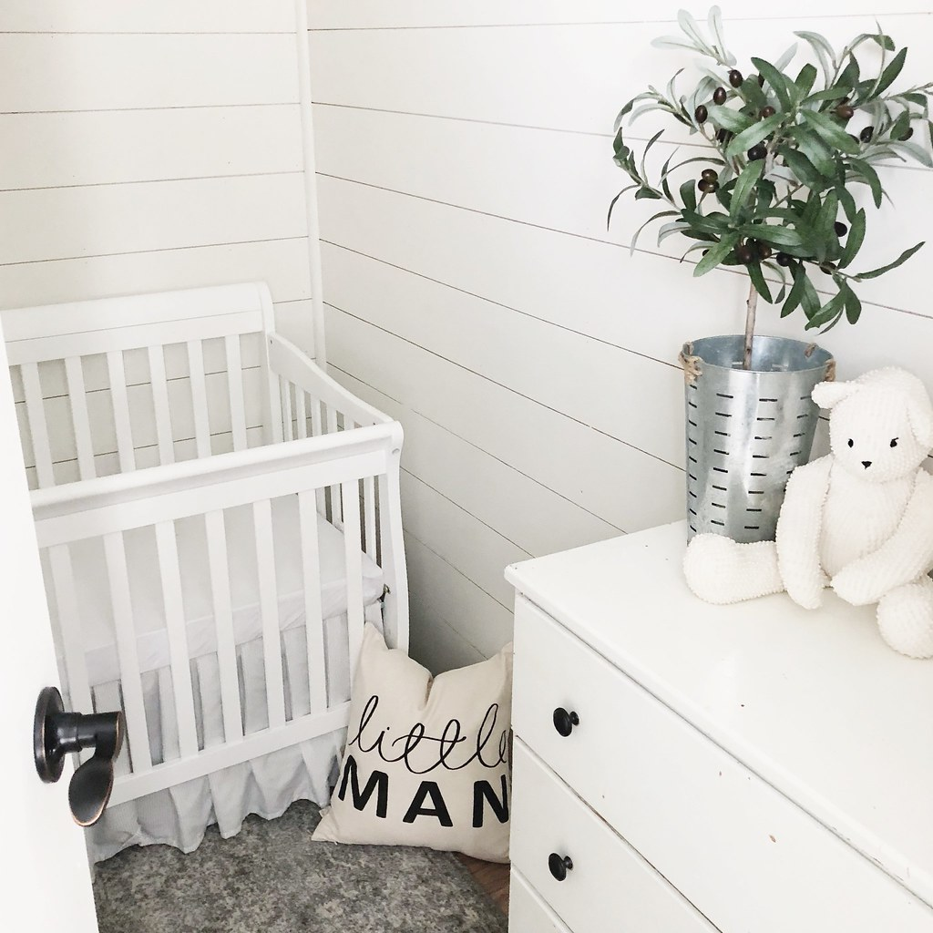 Baby Boy Nursery Progress