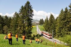 Sainte Croix | CH-VD (Vaud) | 05.05.2018 | Travys Be 4/4 15 as special train for Bahnforum Schweiz