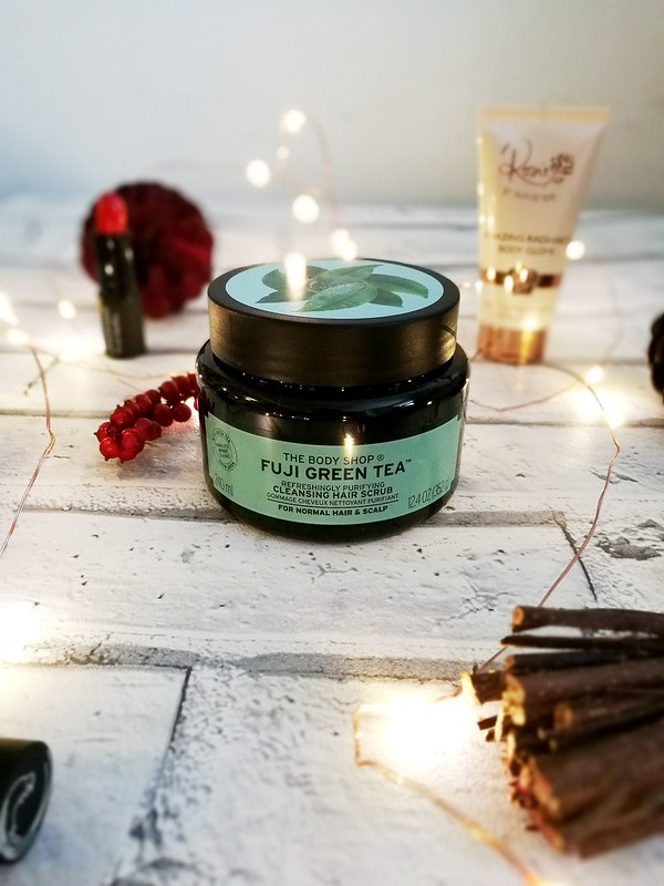 Fuji Green Tea The Body Shop Hair Scrub Review Cruelty Free
