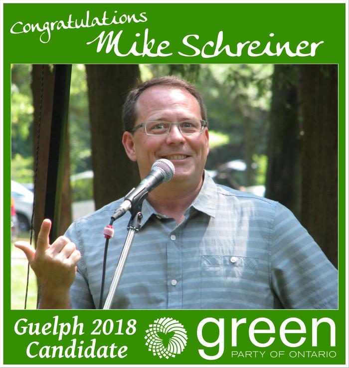 Congrats Mike Schreiner