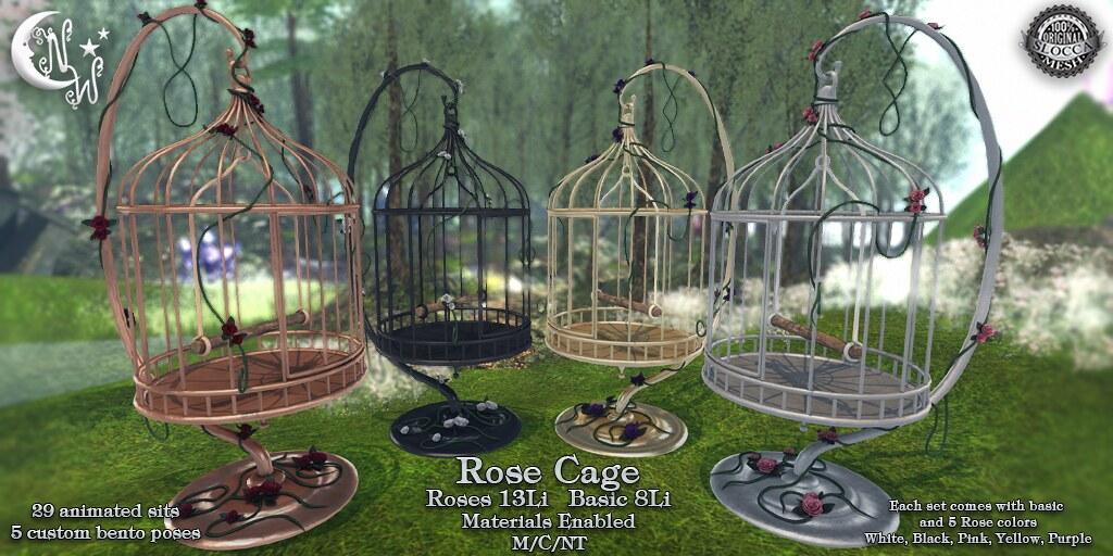 *NW* Rose Cage - TeleportHub.com Live!