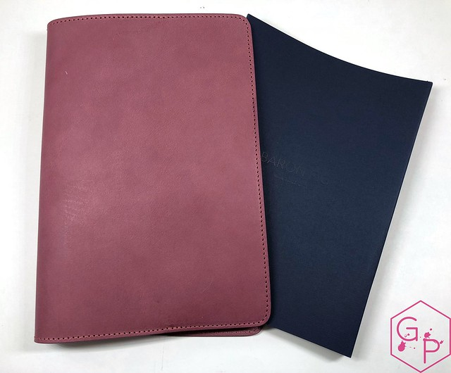 Mailbox Goodies @BaronFig Portals & Guardian Notebook Cover 17